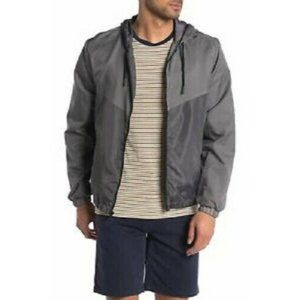 Sovereign Code Men's Charcoal Gray Windbreaker